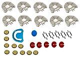 Red Dental - Dental Pin Evolution - Kit di base per l'individualizzazione della dentatura, per la costruzione di modelli per protesi dentali