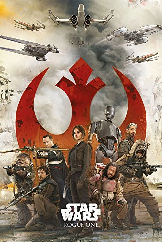 empireposter Star Wars-Rogue One-Rebels Poster Plakat Größe 61x91,5cm, Papier, bunt, 91.5 x 61 x 0.14 cm