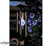 Urban Solar Colour Changing Wind Chime
