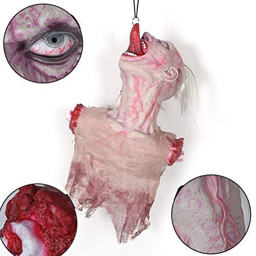 YKQ WS Halloweendekoration Indoor Outdoor beängstigend Realistische hängenden Körper Zombie Untoten