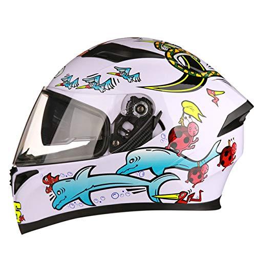 Berrd Casco da moto Casco da moto da corsa Casco da moto Casco integrale Casco da bicicletta Four Seasons Universal R1-607-C1 XL