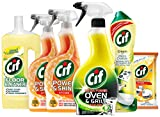 Cif Essential Kitchen Cleaning Kit, 6 items