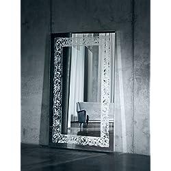 Casa Padrino espejo de lujo con luz y control remoto 107 x H. 182 cm - Calidad de Lujo