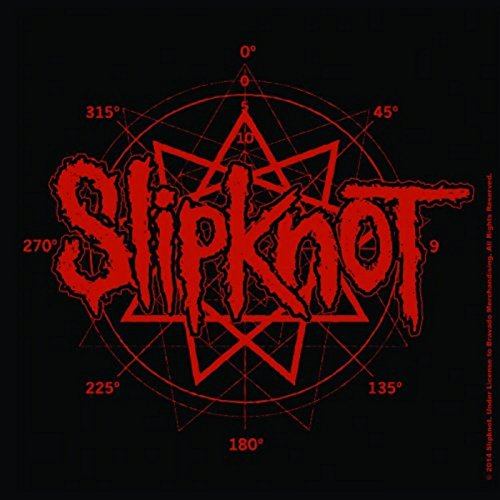 Slipknot Untersetzer band Logo Nue offiziell 9.5cm x 9.5cm Cork single drink