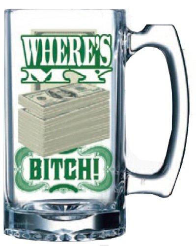 (Breaking Bad Where's My Money 16oz Beer Mug)