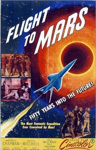 Forex-Platte 40 x 60 cm: Flight to Mars von Everett Collection