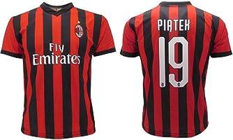 Maglia Piatek Milan Ufficiale 2018/2019 AC Adulto Bambino Krzysztof Numero 19