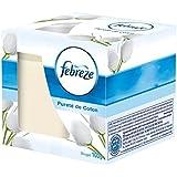 3x Febreze Duftkerze Cotton Fresh/ reine Frische/ je 100g/ für angenehmen Duft in Ihren vier Wänden/ brennt bis zu 30 Stunden