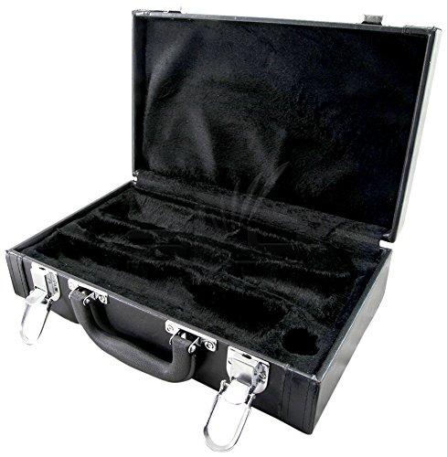Sky SKYCLHC601 Hochwertige Klarinetten-Koffer, Kunstleder, Schwarz