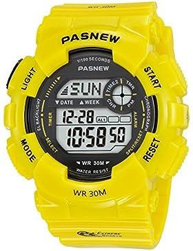 Children's watch multi-funktion bewegung countdown alarm electro wasserdicht running-E