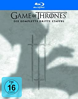 BD * Game of Thrones - Die komplette 3. Staffel (Box Set / 5 Discs) [Blu-ray] [Import allemand] (B00FVXIFRQ) | Amazon price tracker / tracking, Amazon price history charts, Amazon price watches, Amazon price drop alerts