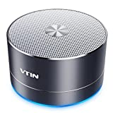 VTIN Mini Portabler 4.1 Bluetooth Lautsprecher Wireless Speaker (Mikrofon, TF Karte Slot, USB &...