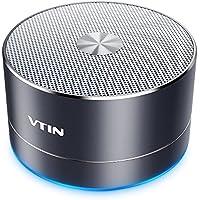 VICTSING VTIN Mini Altavoz Bluetooth Inalambrico, Llamar Manos Libres Portátil con Tarjeta TF, Micrófono Incorporado, USB y Cable Combinado de Audio Compatible con Todos los Teléfonos Inteligentes