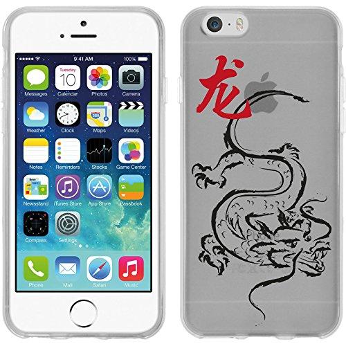 PhoneNatic Case für Apple iPhone 6 Plus / 6s Plus Silikon-Hülle Tierkreis Chinesisch M12 Case iPhone 6 Plus / 6s Plus Tasche + 2 Schutzfolien Motiv 05