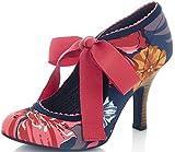 Ruby Shoo Damen Pumps Willow Florale Schleifen Schuhe Mehrfarbig Geschlossen 39