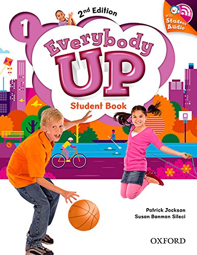 Everybody Up! 2nd Edition 1. Student's Book with CD Pack por Patrick Jackson
