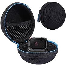 puluz Super Mini Estuche de Almacenamiento Caja para GoPro Hero4Session (Negro)