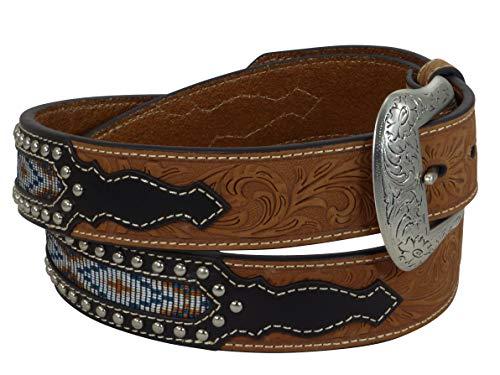 Nocona USA Western Gürtel Floral Indian Cowboy Cowgirl 40