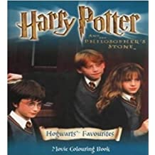 Harry Potter (Movie)- Movie Colouring Book - Hogwarts' Favourites(Pb)