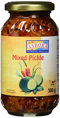 ASHOKA Mixed Pickle, Bombay, 6er Pack (6 x 300 g)