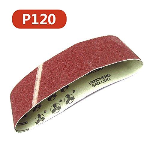 Schleifbänder Schleifbänder Schleifpapier Weit verbreitet in Holz und Metallprodukten Schleifen und Polieren 120#