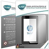 2 x Slabo Bildschirmschutzfolie HP Slate 7 Bildschirmschutz Schutzfolie Folie