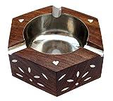 #10: Fabulo Wooden Ashtray Hexagon