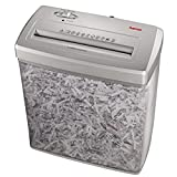 Hama Papierschredder Aktenvernichter (bis zu 7 Blatt, Kreuzschnitt, Schredder für Papier und Plastikkarten, Inkl. 14-Liter-Metallkorb) Shredder silber - 2