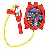 #7: Toyshine Startoys Holi Water Gun with High Pressure, Back Holding Tank, 1.2 L, Marvel Spider-man, Red