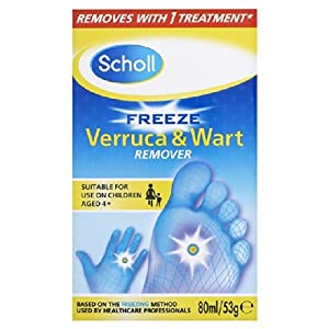 Scholl Verruca Wart & Freeze-Spray 80 ml
