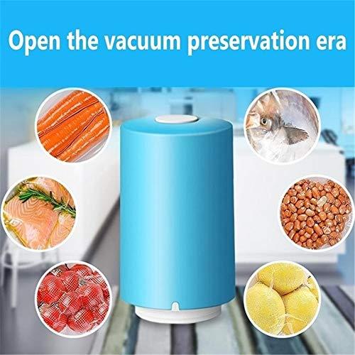 NZNNXN Küche Lebensmittel Mini Vakuum tragbare kleine Haushalt Handheld Compression Packaging Snack Bag Sealer (Tragbares Vakuum)