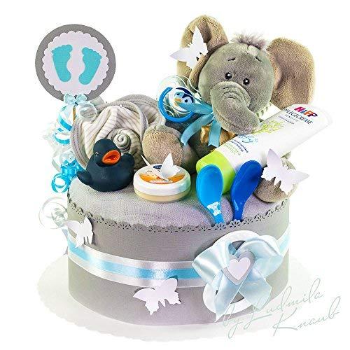 Pañales tartas/PAMPERS Tarta > > Baby regalo joven