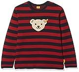 Steiff Baby-Jungen Sweatshirt 1/1 Arm, Mehrfarbig (Y/d Stripe|Multicolored 0001), 68