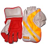 #6: HRS Collage Wicket Keeping Gloves (Men, Multicolor)