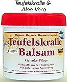 Teufelskralle-Balsam con gel di aloe vera-vera, crema da diavolo per dolori in caso di tensioni, reumatismi e artrosi, gel per il dolore e la circolazione sanguigna.