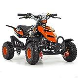 FunBikes Mini quad à essence pour enfant 49cc 50cc Orange Orange