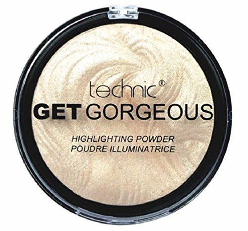 TECHNIC GET GORGEOUS HIGHLIGHTER Shimmer Compact Highlighting