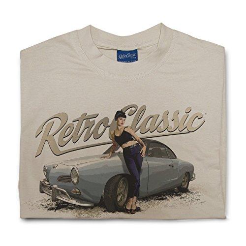 RetroClassic Herren T-Shirt Sand