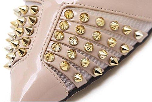 Pattini Scarpe da Lavoro Scarpin New Revit Decorazione PU Uomini Donne Peep Toe Scarpe UE Taglia 35-40 Black