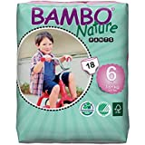 Bambo Nature Training Pants 18 kg+, 18 Count, Size 6