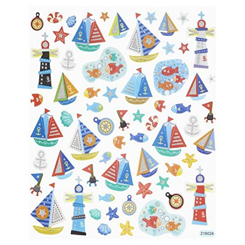 Hobby Design Sticker * Maretim Strand Schiff Boot Meer * Aufkleber
