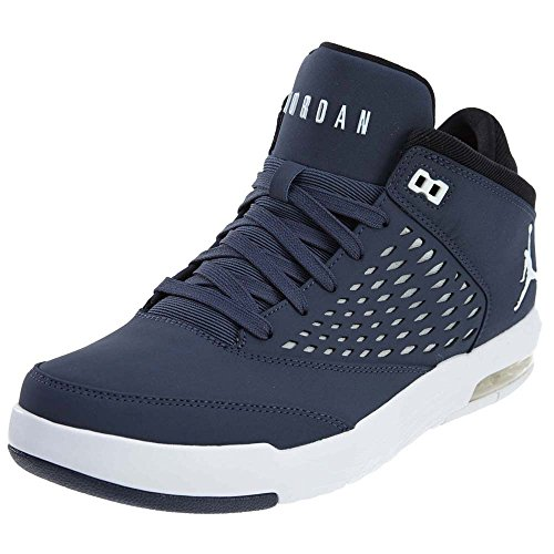 Nike Herren Jordan Flight Origin 4 Basketballschuhe, Mehrfarbig (Thunder Blue/White), 40 EU - Nike Herren Flight Basketball-schuhe