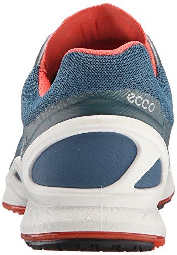 Ecco  ECCO BIOM FJUEL, Chaussures Multisport Outdoor femme Multicolore - Mehrfarbig (PETROL/PETROL/CORAL BLUSH59539)