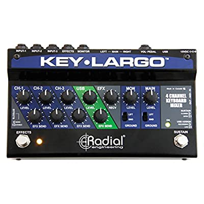 Key-Largo Keyboard Mixer/Perf. Pedal