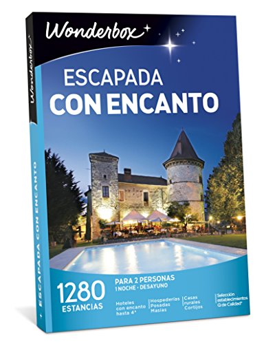 WONDERBOX Caja Regalo -ESCAPADA con...