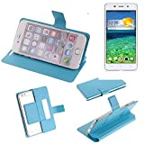 K-S-Trade Flipcover für Cubot X9 Schutz Hülle Schutzhülle Flip Cover Handy case Smartphone Handyhülle blau