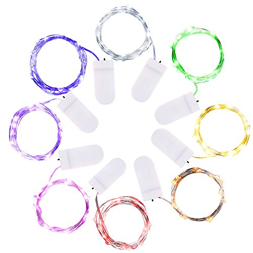 mudder-8-pieces-fairy-string-lights-20-micro-leds-66-feet-silver-wire-lights-for-home-party-decorati