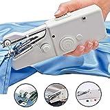 Beito 1pc Machine à Coudre Portable Mini électrique sans Fil Point d'outils pour Tissu Tissu Enfants Accueil Voyage Utilisation 1pc