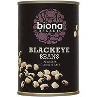 Biona Frijoles De Ojo Negro Orgánicos En 400g De Agua (Paquete de 6)