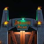 BRIKSMAX-Kit-di-Illuminazione-a-LED-per-Lego-Jurassic-World-Jurassic-Park-T-Rex-RampageCompatibile-con-Il-Modello-Lego-75936-Mattoncini-da-Costruzioni-Non-Include-Il-Set-Lego